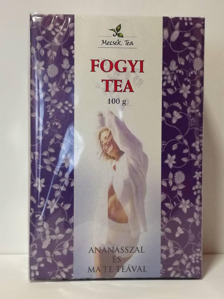 Fogyi tea ananász + mate tea 20 db (Mecsek)