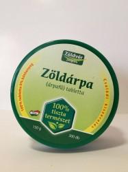 ZÖLDVÉR ZÖLDÁRPA 100% tabl CSALÁDI 300db Organikus