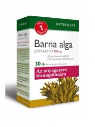 INTERHERB BARNA ALGA KAPSZULA 30DB