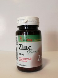 VK ZINC GLUCONATE 30MG TABL. 90DB