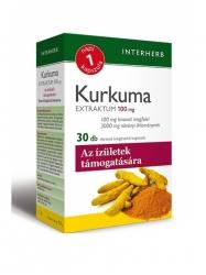 INTERHERB KURKUMA KAPSZULA 30DB