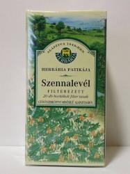 H SZENNALEVÉL FILTER TEA 25X1,5g