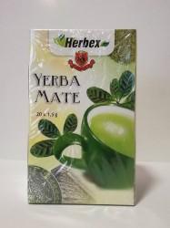 HERBEX YERBA MATE FILTERTEA 20x1,5G