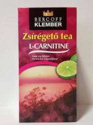 KLEMBER W. ZSÍRÉGETŐ TEA FILT. LIME L-CARNITINE 30