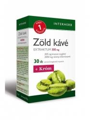 INTERHERB ZÖLD KÁVÉ + KRÓM KAPSZULA 30DB