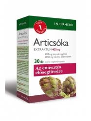 INTERHERB ARTICSÓKA KAPSZULA 30DB