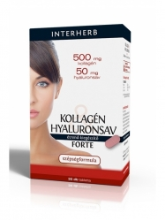 INTERHERB KOLLAGÉN+HYALURON FORTE 30DB