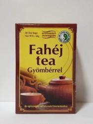DR CHEN FAHÉJAS GYÖMBÉR TEA FILTER 20x2.2g