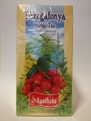 APOTHEKE TŐZEGÁFONYA TEA FILTERES 20X1,5G