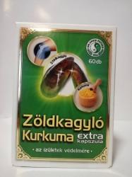 DR CHEN ZÖLDKAGYLÓ KURKUMÁVAL KAPSZULA 60X