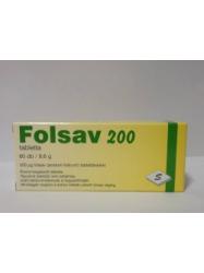 FOLSAV 200 TABL. 60DB