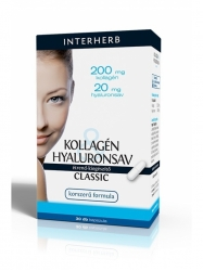 INTERHERB KOLLAGÉN+HYALURON 30X