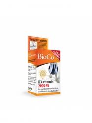 BIOCO D3-VITAMIN 2000IU TABLETTA 100DB