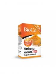 BIOCO KURKUMA KIVON. 7500 + TÖMJÉN KIV. KAPSZ 60DB