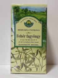 H FEHÉRFAGYÖNGY FILT.TEA 20DB/1g
