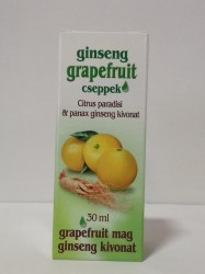 DR CHEN GRAPEFRUIT CSEPPEK ginsenggel 30ml