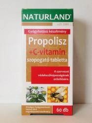 NL PROPOLISZ +C-VIT 60* TABLETTA BLISZTERES