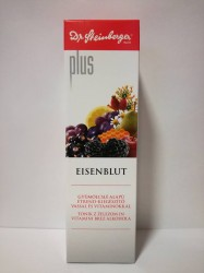 DR S EISENBLUT PLUS VASSAL ÉSvitaminokkal 450ml