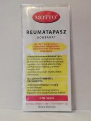 MOTTO TAPASZ SÁRGA 2DB-OS (reuma)