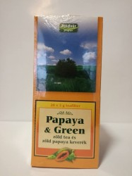 DR TEA PAPAYA & GREEN FILTERTEA 20x2g