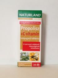NL PROPOLISZ +C-VIT 20* TABLETTA