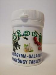 BIONIT FOKHAGYMA-GALAGONYA-FAGYÖNGY TAB. 70X