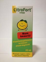 CITRO FORT CSEPP NEM KESERŰ 20ML zöld